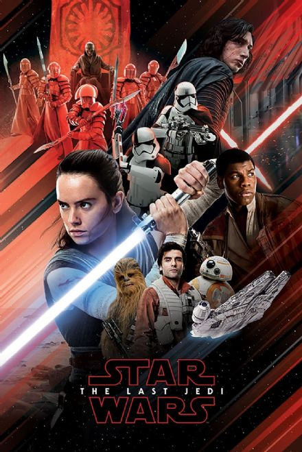 Star Wars Characters 61x91,5cm Movie Posters